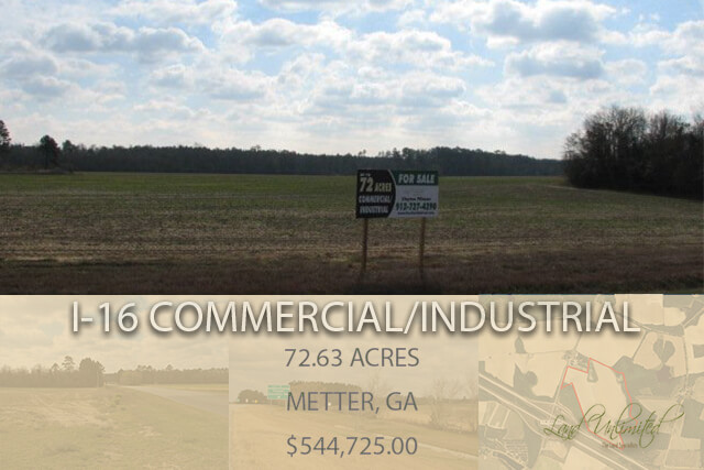 I-16 Commercial/Industrial Acreage – Metter