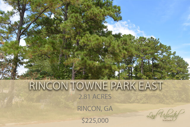 Rincon – Towne Park East 2.81 ACRES COMMERCIAL