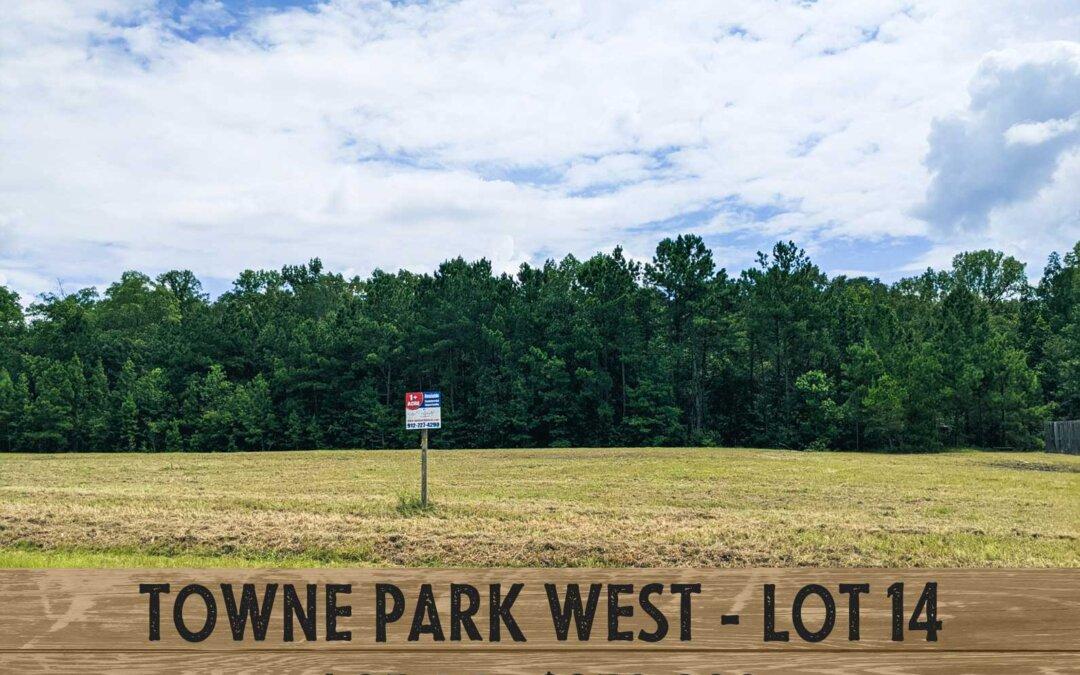 Towne Park West, Rincon, Ga. lot #14