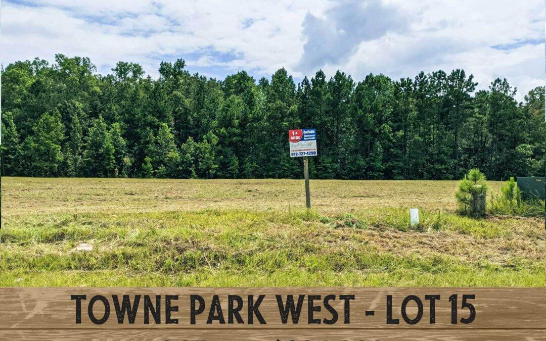 Towne Park West, Rincon, Ga. lot #15