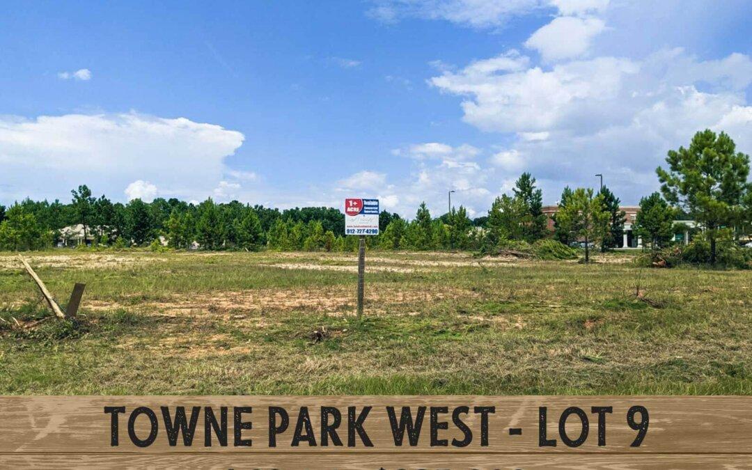 Towne Park West, Rincon, Ga. lot #9
