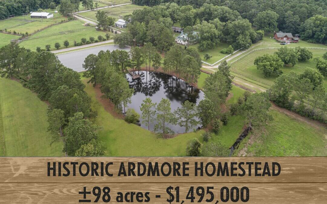 Historic Ardmore Homestead with Equestrian Facilities