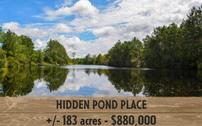 Hidden Pond Place