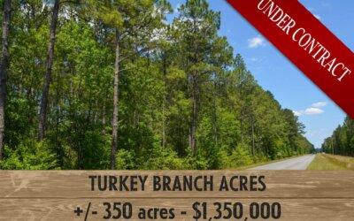 Turkey Branch Acres (UNDER CONTRACT)